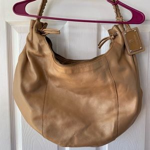 Paolo Masi tan large hobo bag EUC